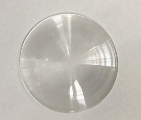 PMMA stage lens